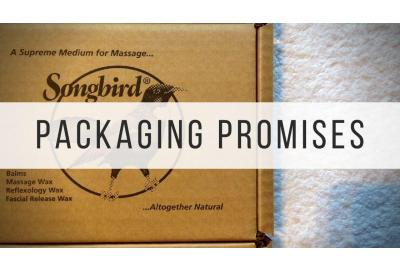 Songbird Naturals eco-friendly packaging